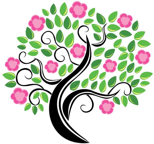 Blossom tree Tree Vector