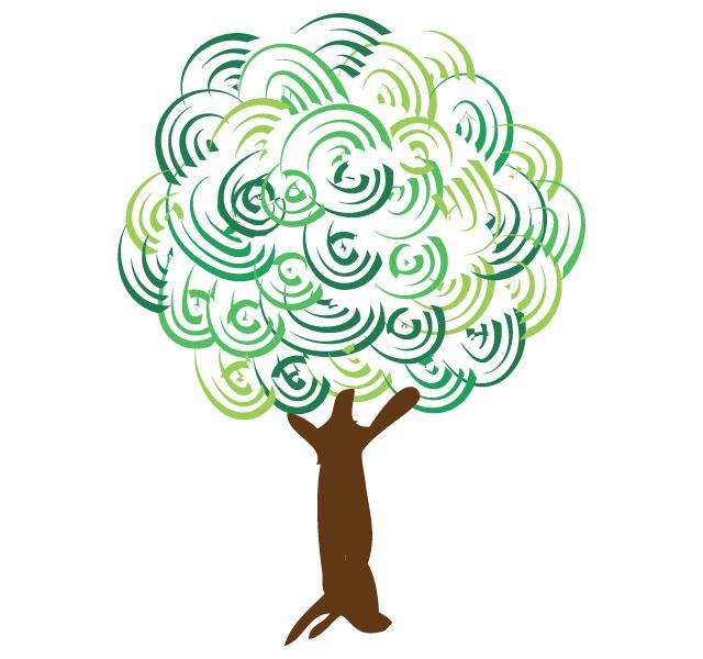 Artistic tree Tree Vector