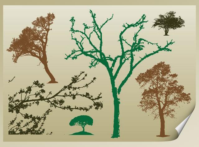 Tree Silhoutte Tree Vector