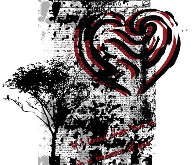 Tree vector T-shirt Design Tree Vector